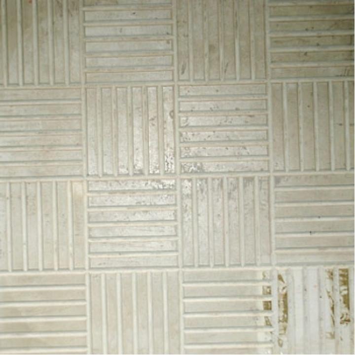 Плитка тротуарная 300х300х30 мм Паркет серая