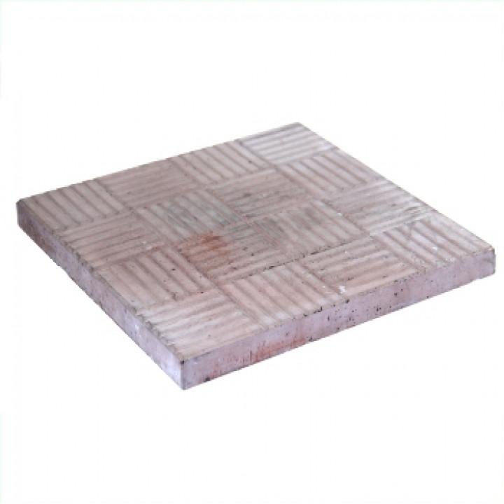 Плитка тротуарная 300х300х30 мм Паркет коричневая