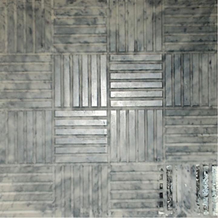 Плитка тротуарная 300х300х30 мм Паркет черная
