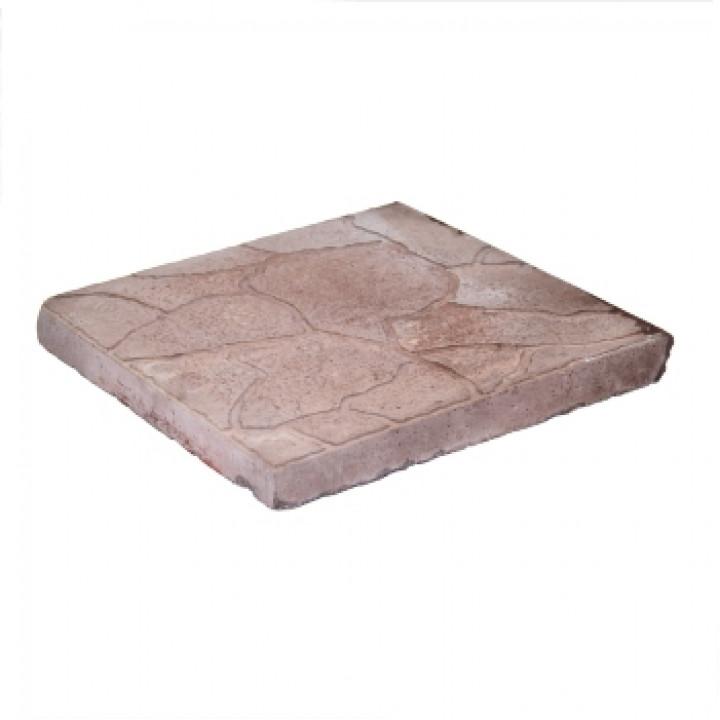 Плитка тротуарная 300х300х30 мм Тучка коричневая