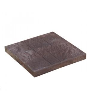Плитка тротуарная 330х330х20 мм полимерпесчаная коричневая