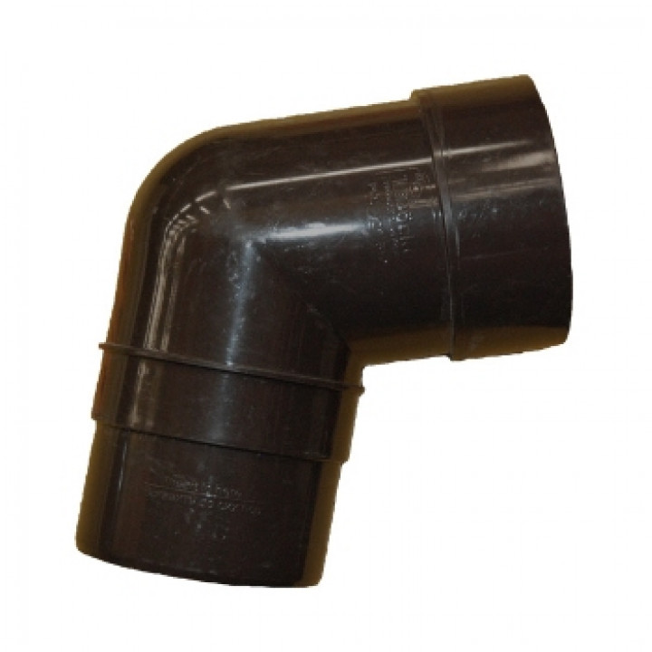 Колено трубы 72гр. шоколад Дёке