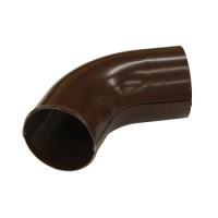 Колено сливное 90х0,5 мм, 60 гр. шоколад (RAL 8017)