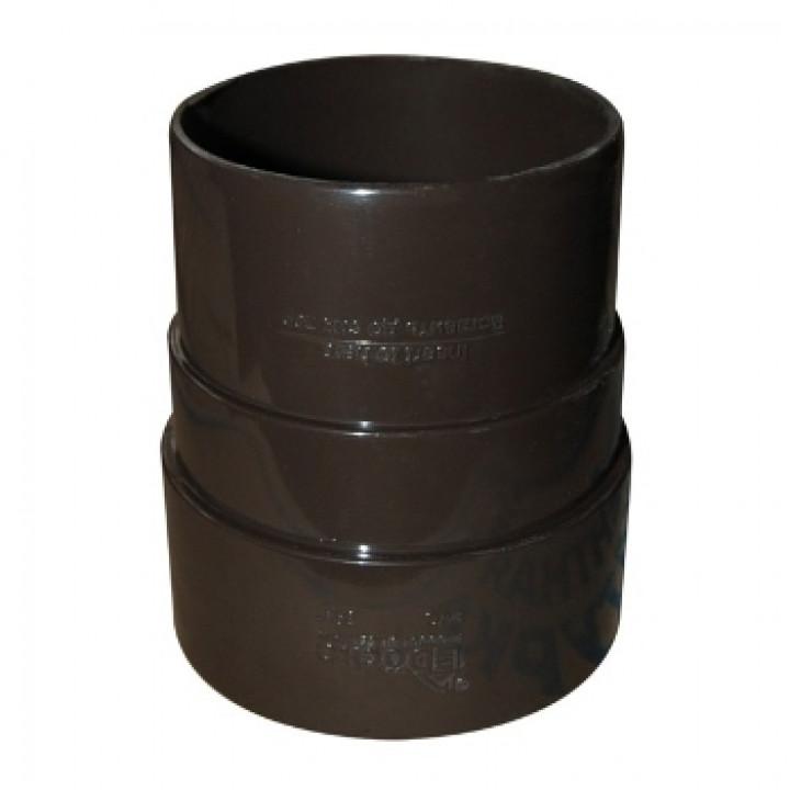 Муфта соединительная трубы шоколад Дёке