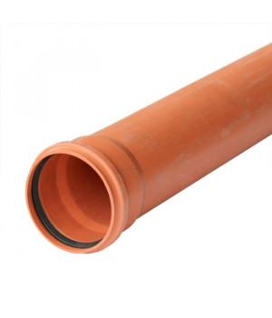 Труба 110х1000 мм наружная канализационная