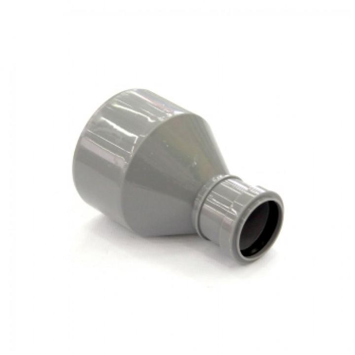 Переход редукционный 110х50 мм канализационный