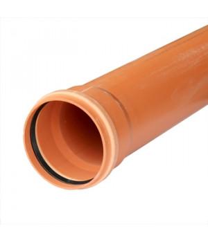 Труба 160х1000 мм наружная канализационная