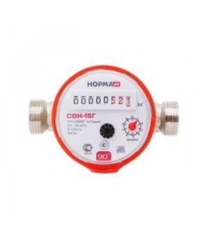 Счетчик воды СВК(М)-15 У, Ду15 , 1,5м3/час антимагнитный универсальный Норма